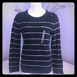 NWT Tommy Hilfiger Navy Blue Sweater M